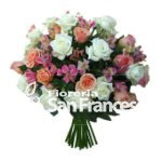 Bouquet assortito con fantasia