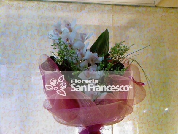 Orchidea confezionata invio fiori canicatt addobbi per for Costo orchidea