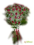 Rose rosse M a gambo lungo